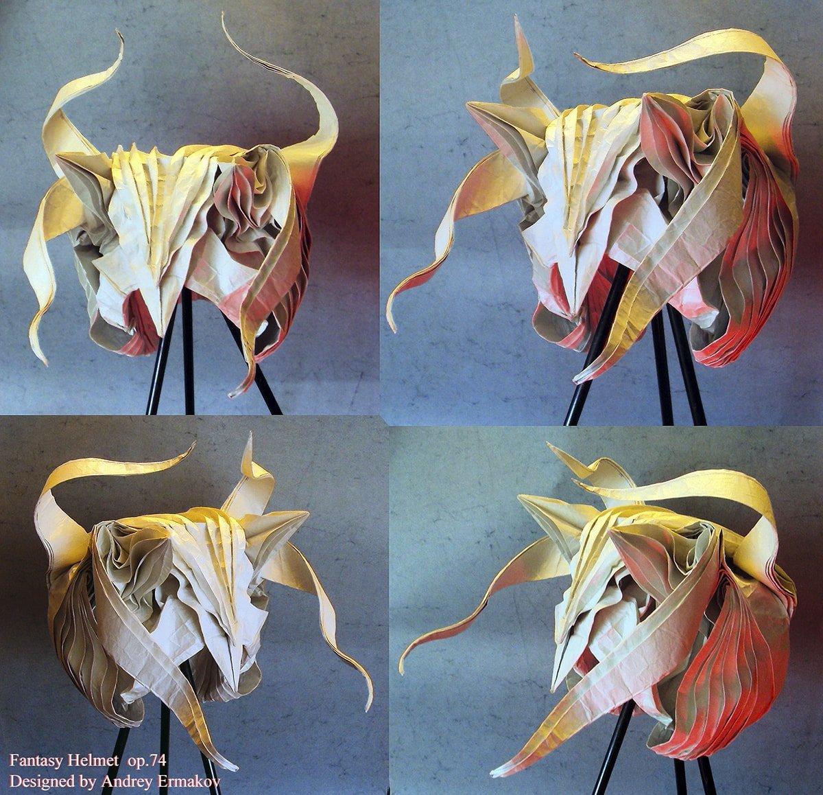 Fantasy Helmet by Andrey Ermakov