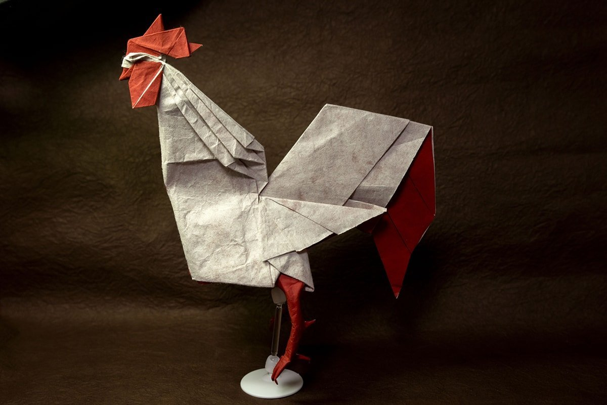 Rooster by origami-M-H-G :)