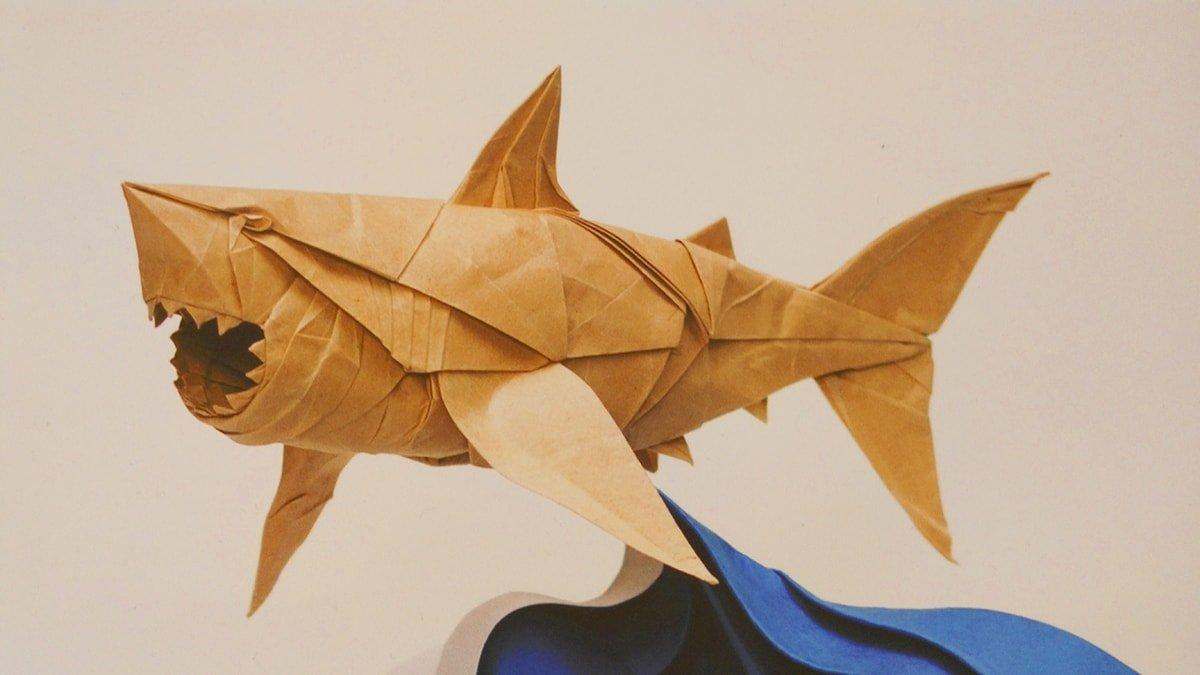 Great White Shark Folded by Phạm Hoàng Tuấn