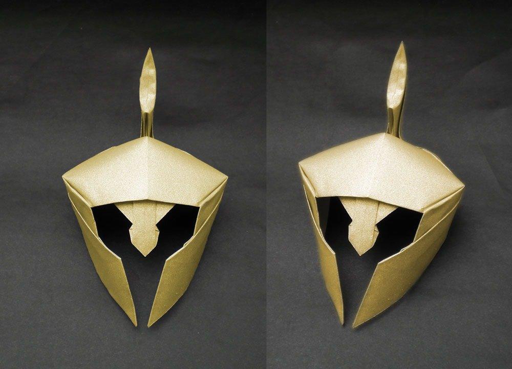 Athenian Helmet by Alexander Kurth