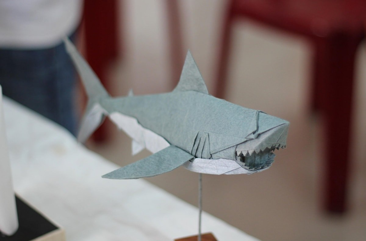 Great White Shark Origami by Nguyen Ngoc Vu