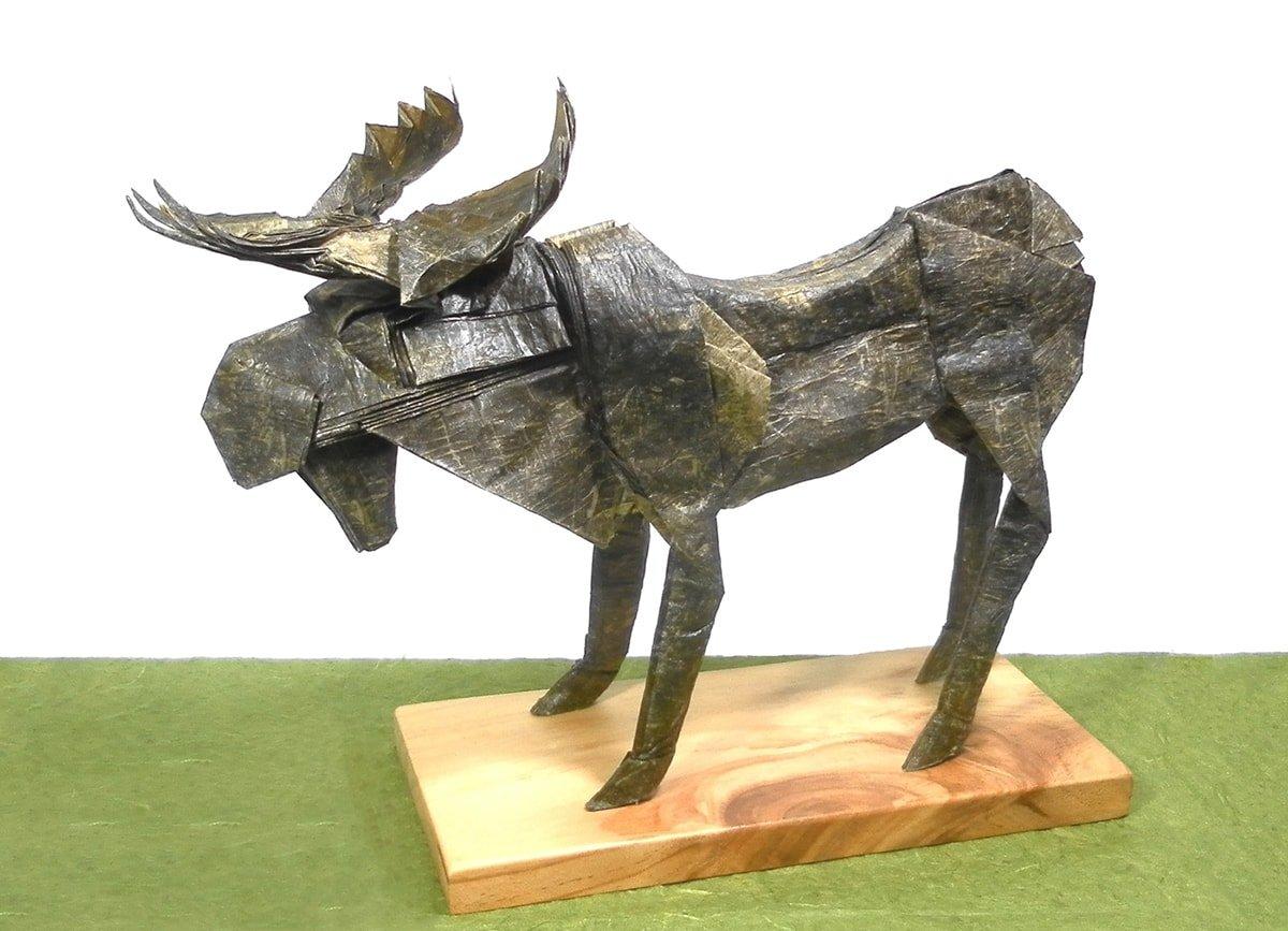 Robert J. Lang's Bull Moose