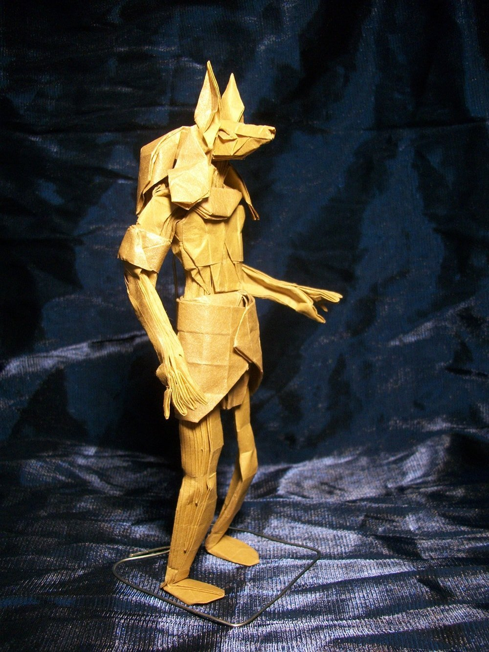 Anubis Folded by Hubert Villeneuve