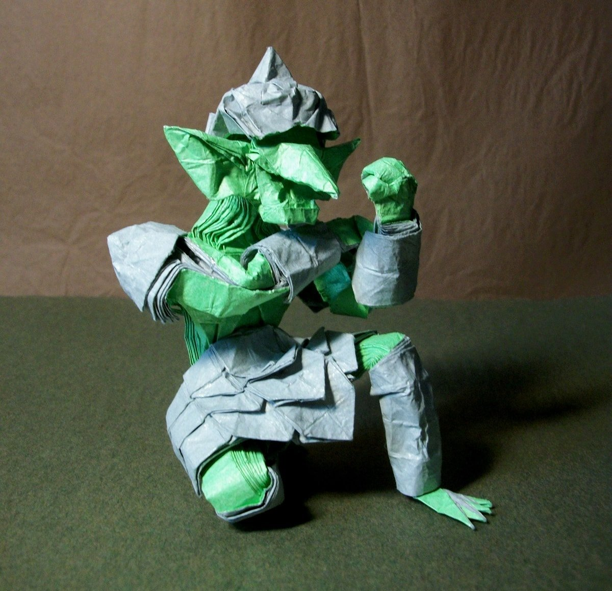 Goblin Folded by Hubert Villeneuve