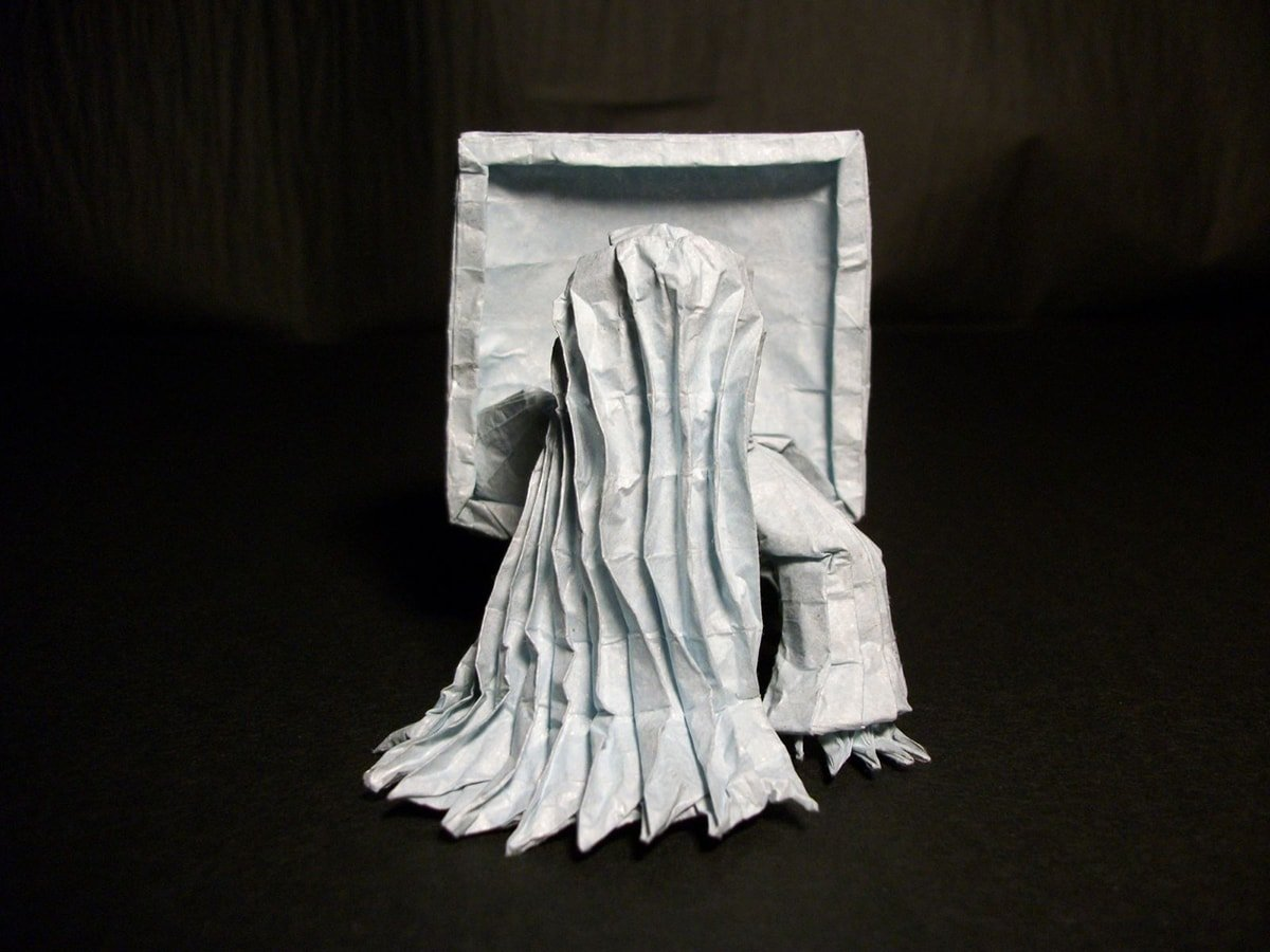 Horror Movie Folded by Hubert Villeneuve