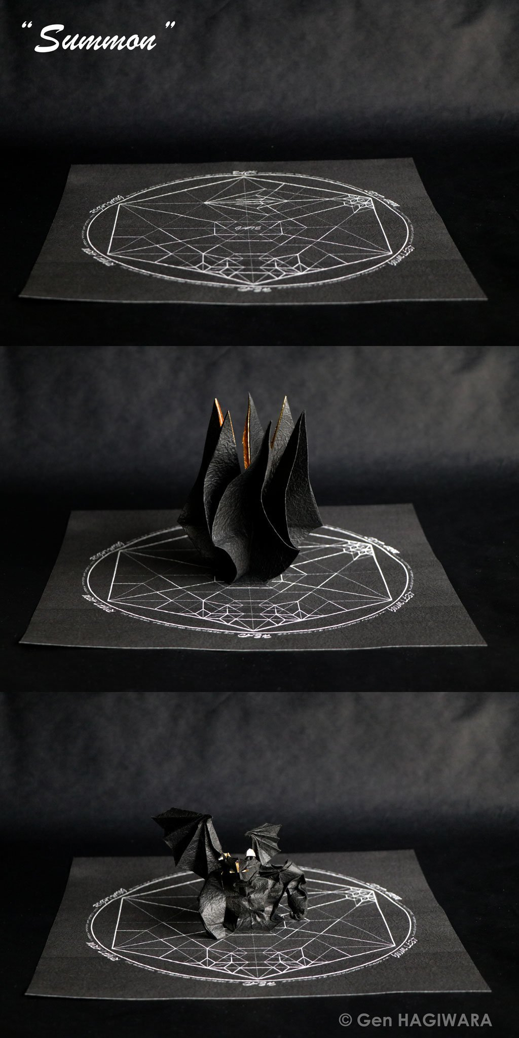 Summoning an Origami Demon