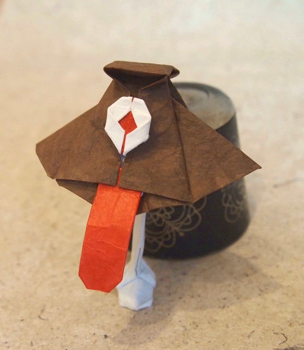 Origami Karakasa (Umbrella Monster)