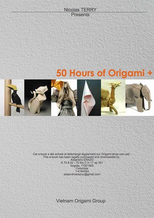 50 Hours of Origami + VOG