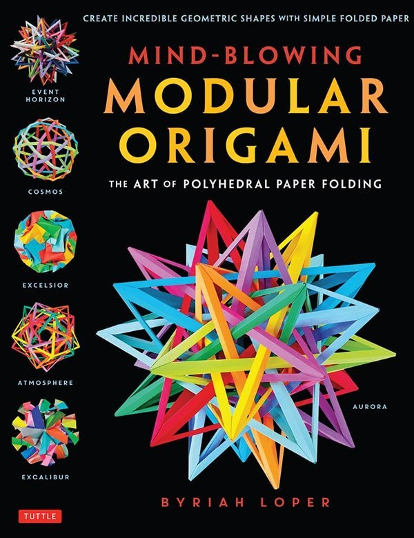 Mind Blowing Modular Origami Cover