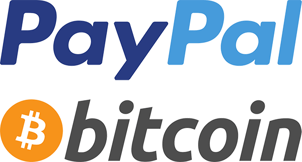 Donate PayPal or Bitcoin