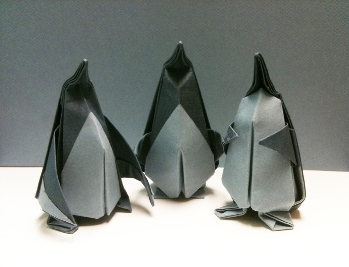3 Penguins by Beth Johnson