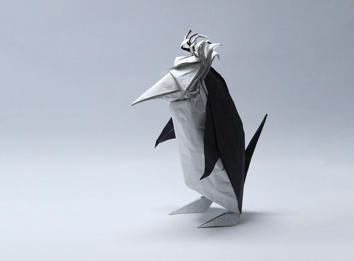 Penguin with Hair