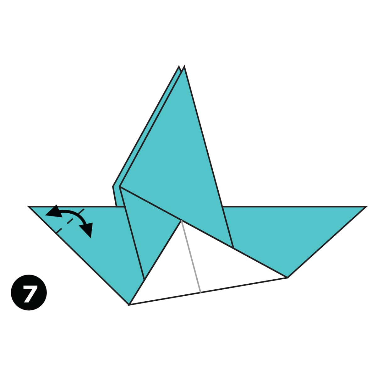 Pigeon Step 7