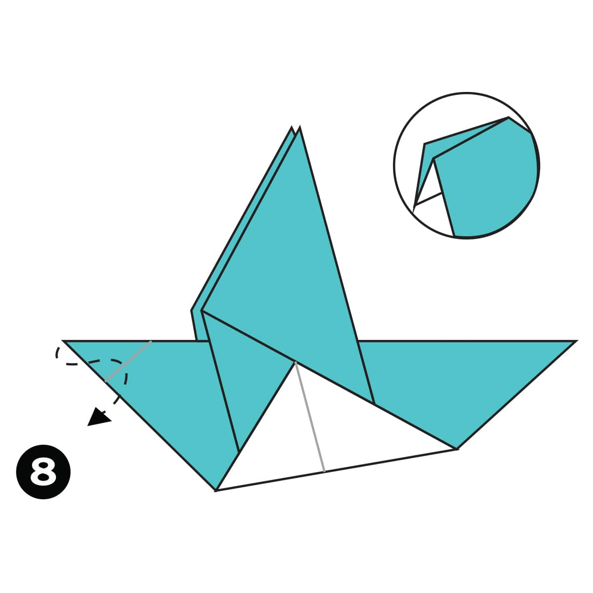 Pigeon Step 8