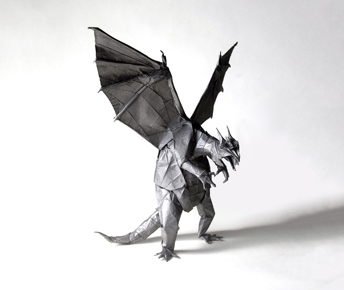 HT_7619] Origami Dragon Instructions Advanced Origami Dragon ... | 1013x1200