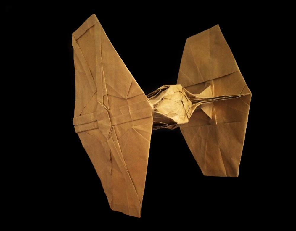 How to Fold an Origami Star Wars TIE Fighter - YouTube | 781x1000