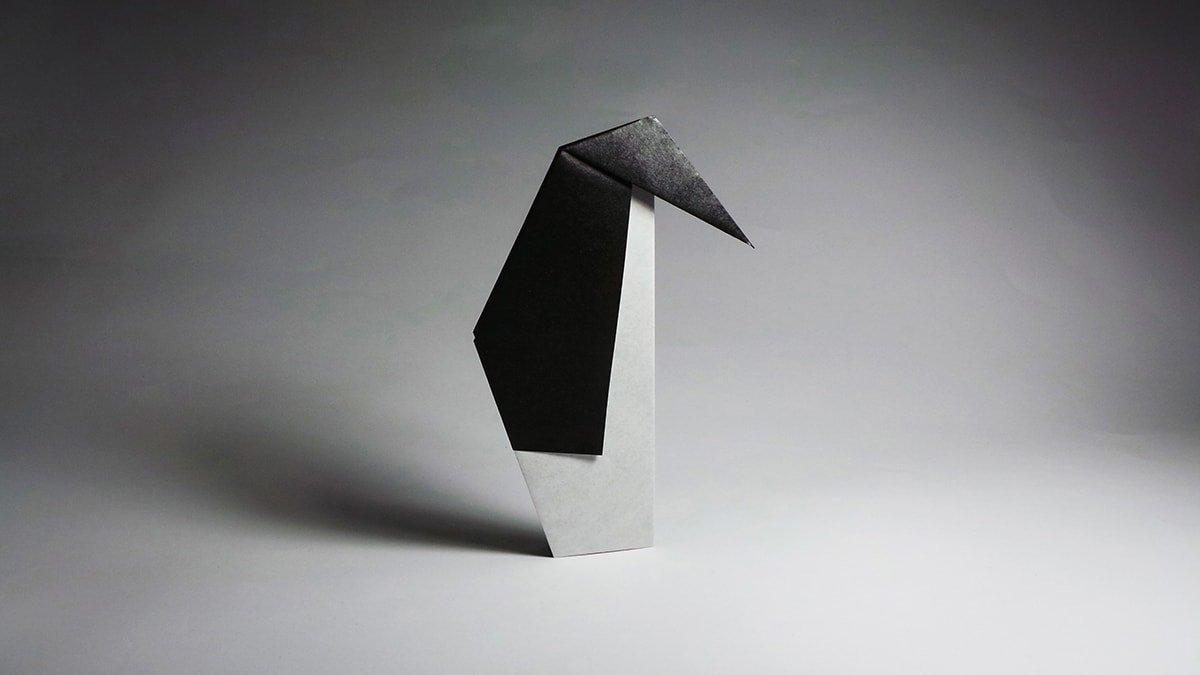 Traditional Origami Penguin