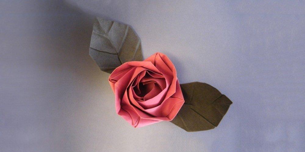 Pin en Origami roses | 500x1000
