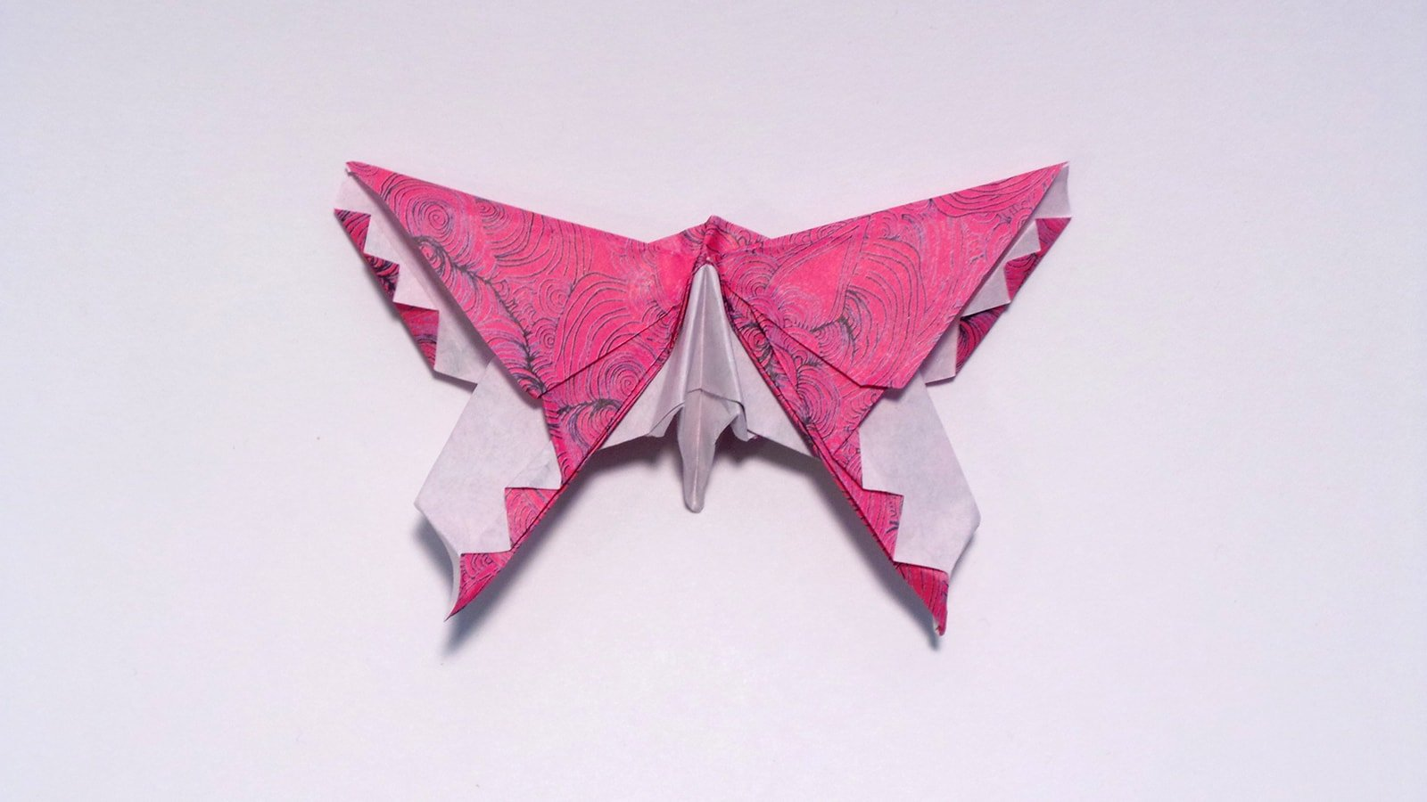 Origami Butterfly Template with Diy Instruction | Free Printable ... | 900x1600