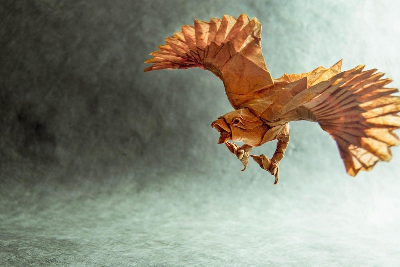 Origami Birds, No Egret