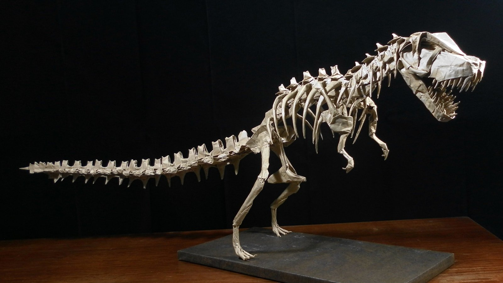 Mind-Blowing Origami Dinosaur Skeletons | Origami me