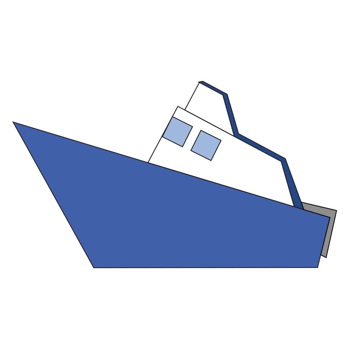 Boat Step 8