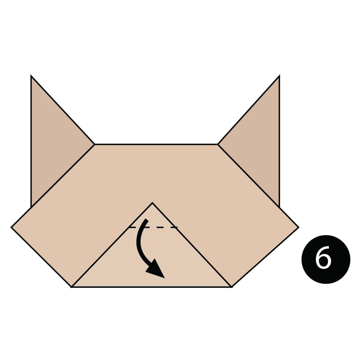 Cat Face Step 6