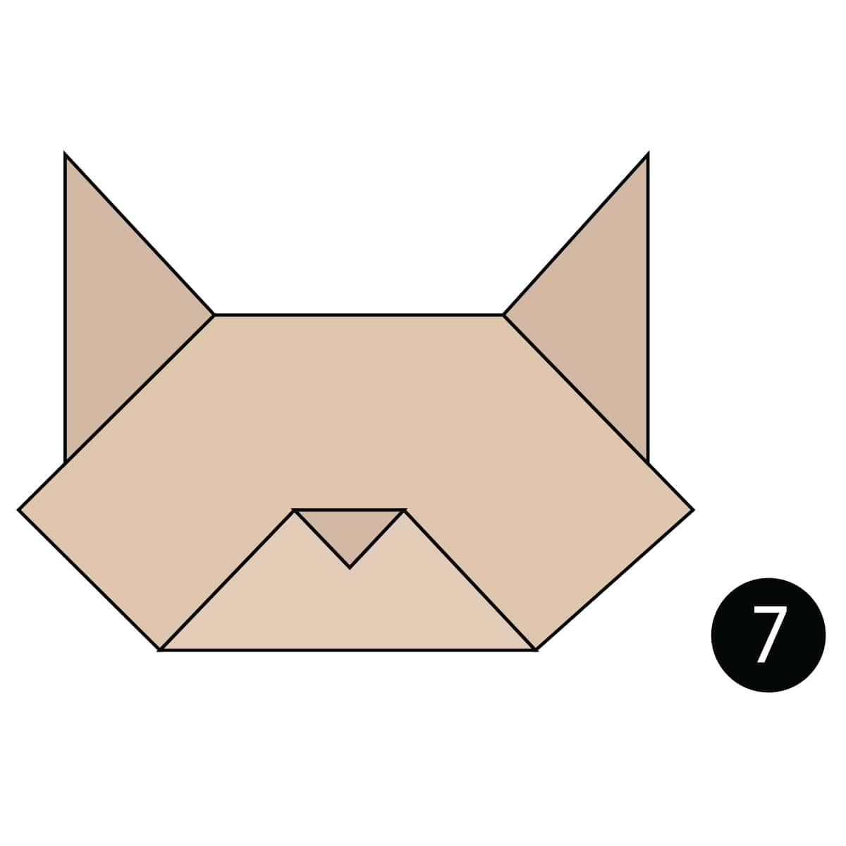 Cat Face Step 7