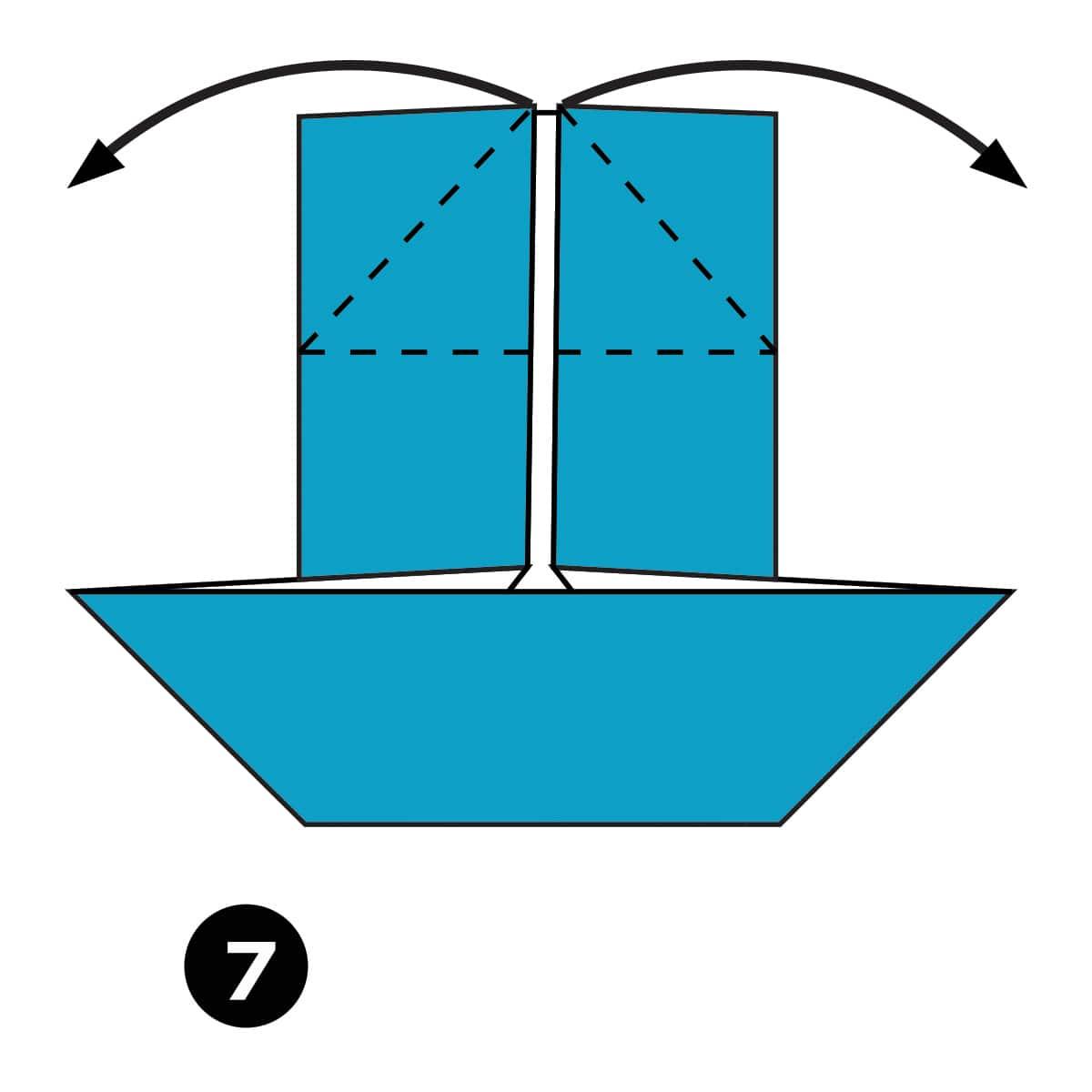Catamaran Step 7