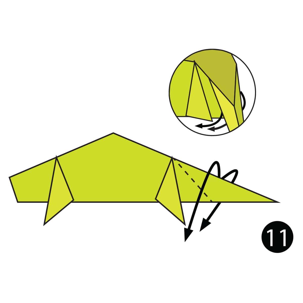 Chameleon Step 11
