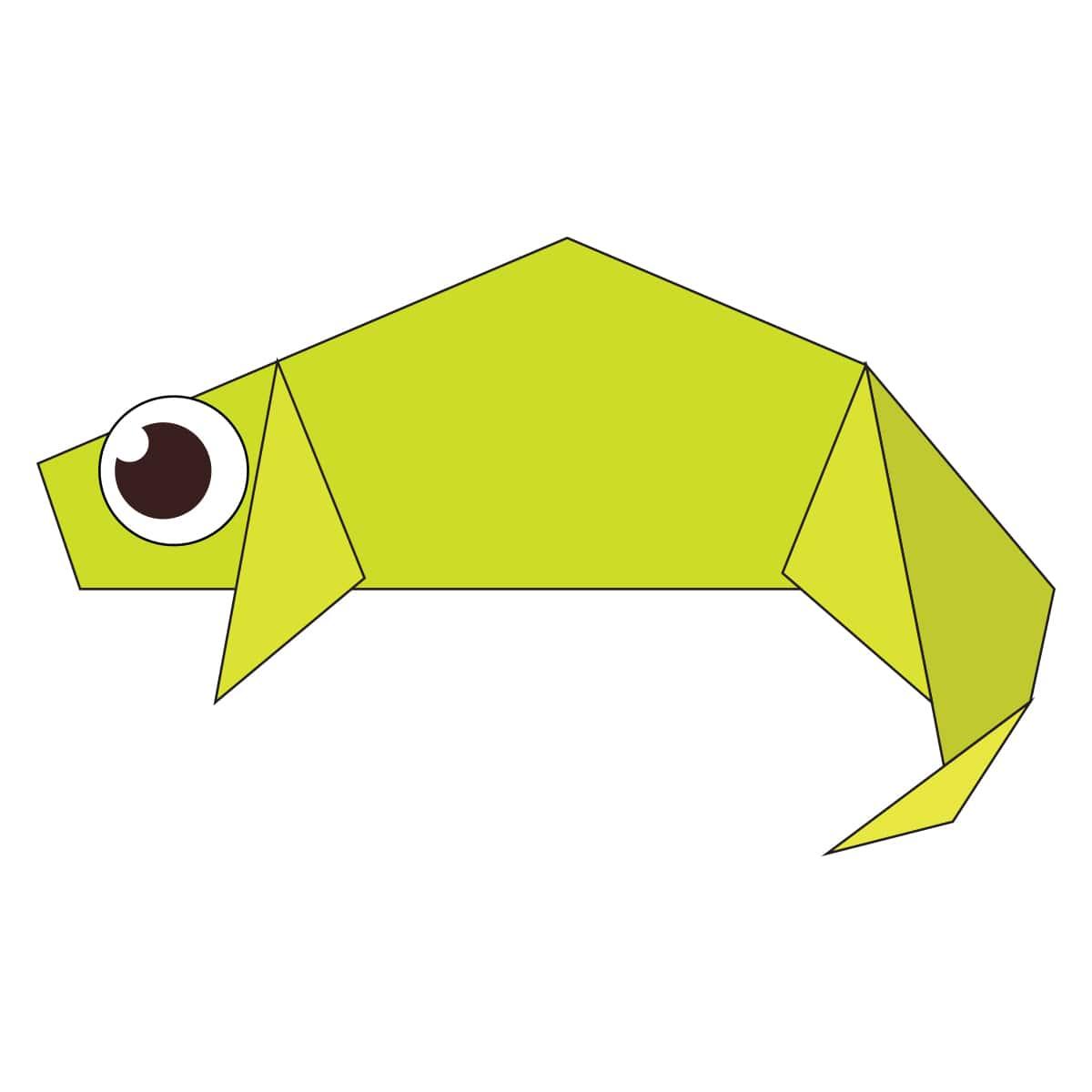 Chameleon Step 13