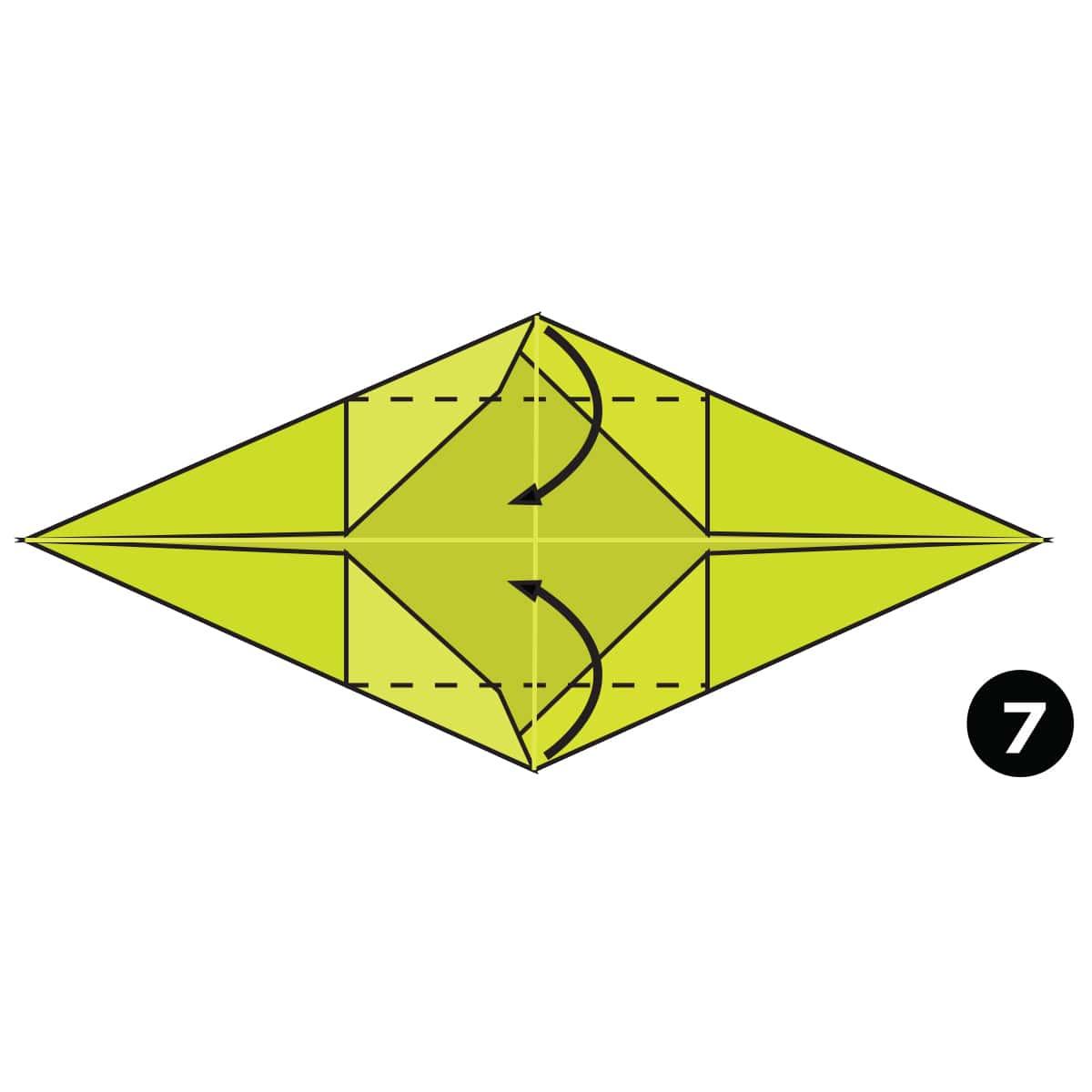 Crocodile Step 7