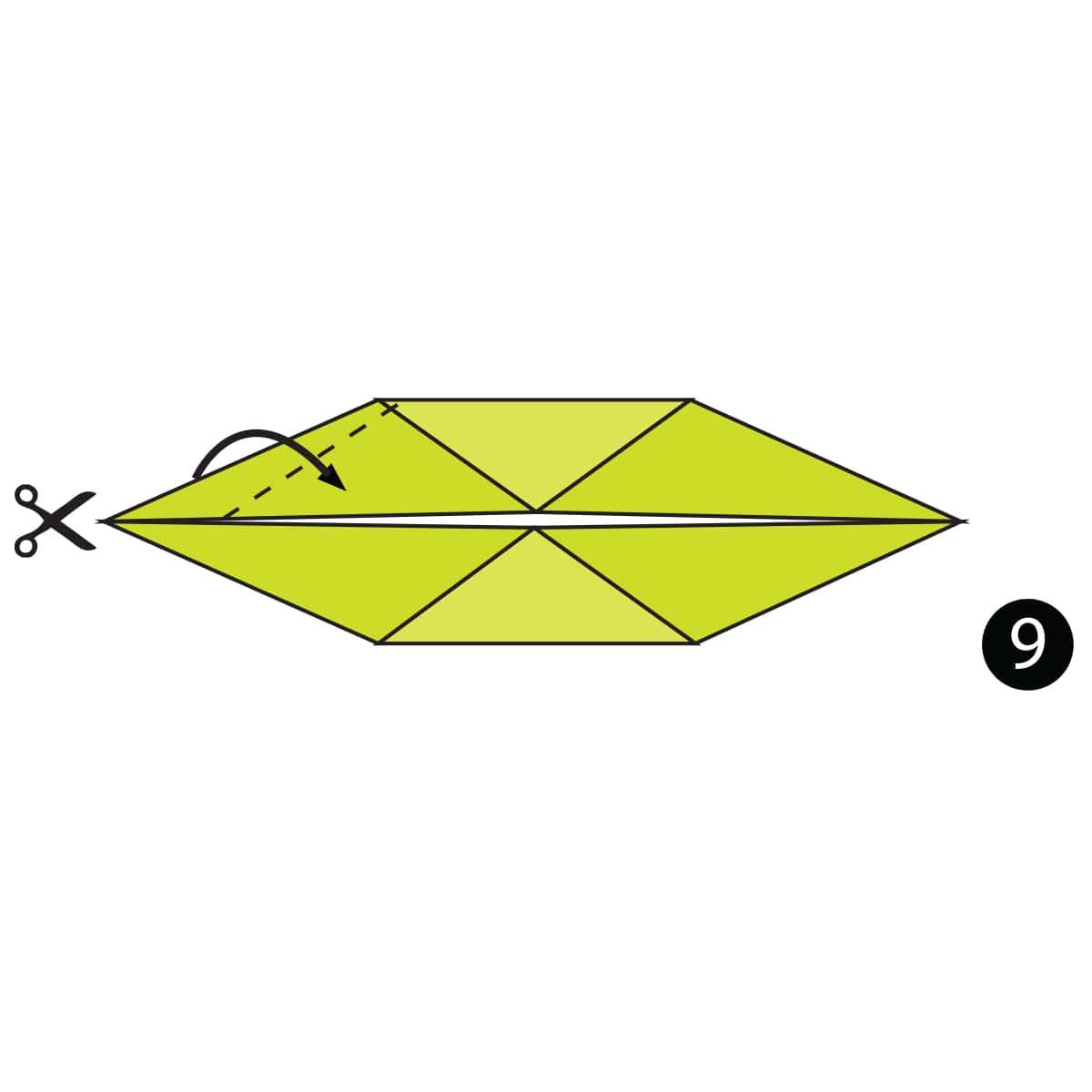 Crocodile Step 9