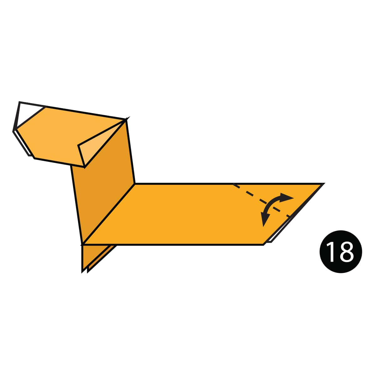Dachshund Step 18
