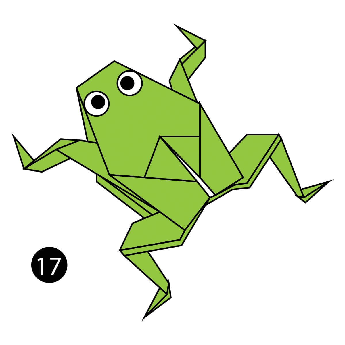 Traditional Frog Step 17