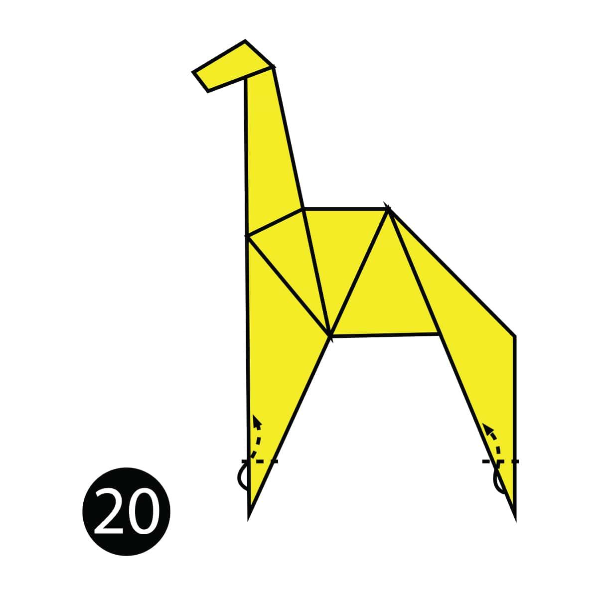Giraffe Step 20