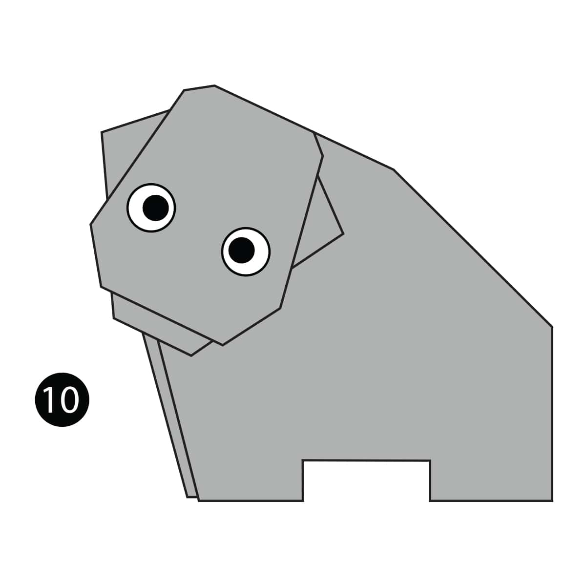 How To Make An Easy Origami Hippo