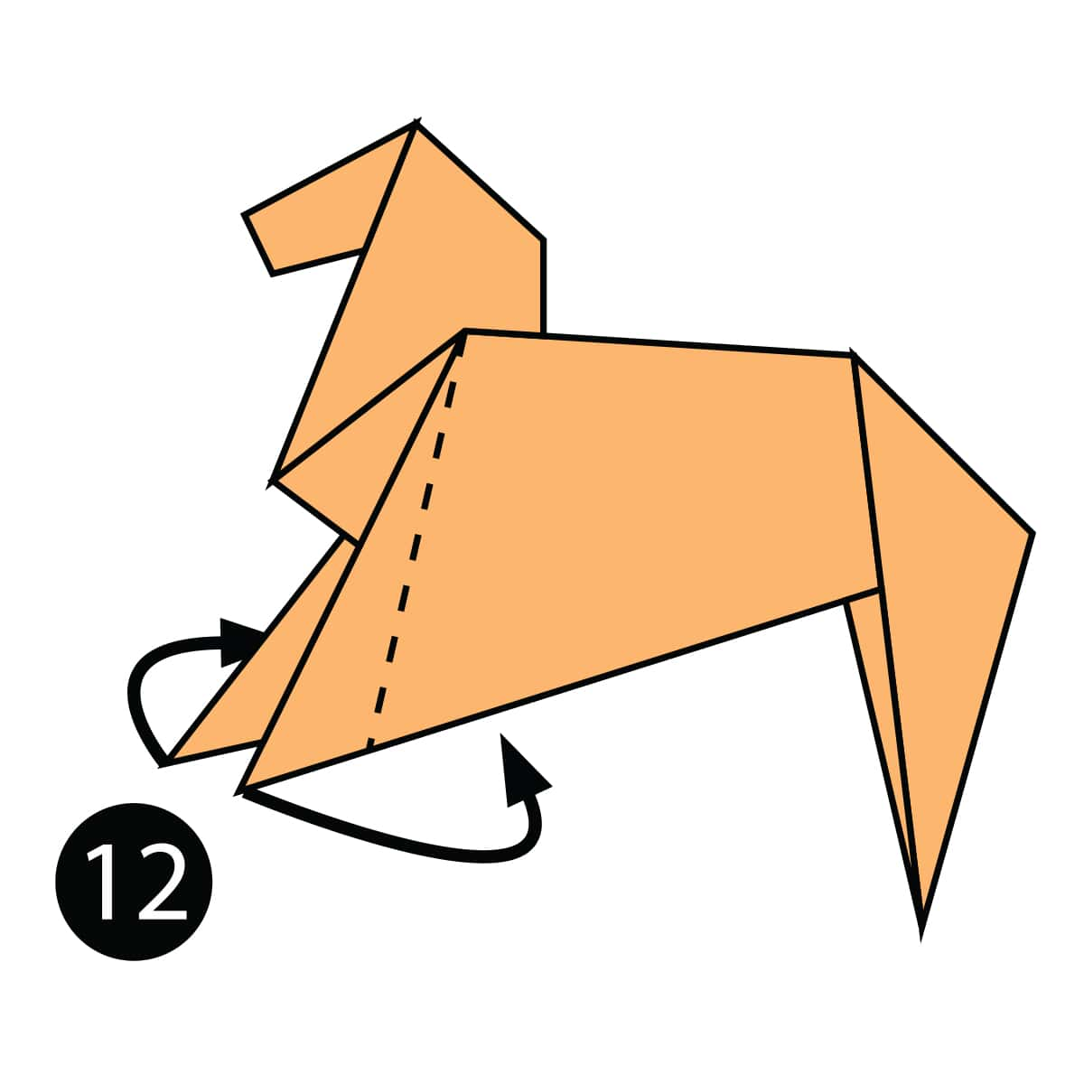 Horse Step 12