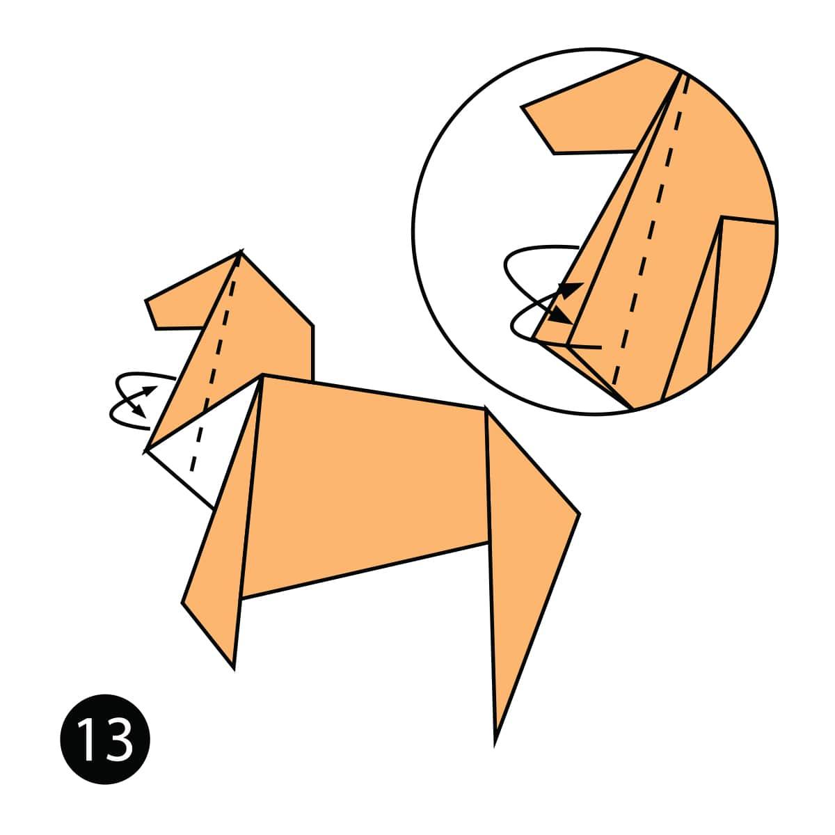 Horse Step 13