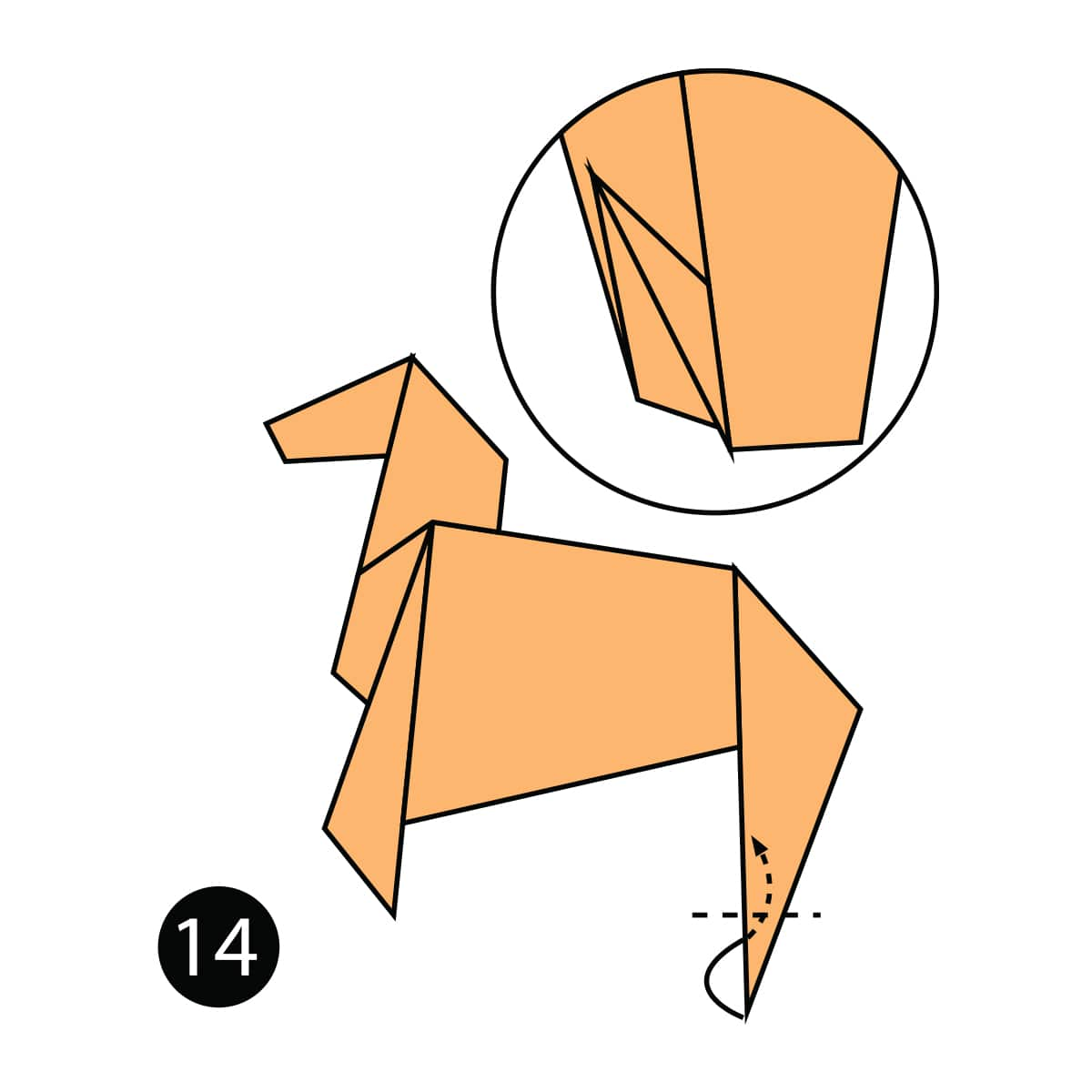 Horse Step 14