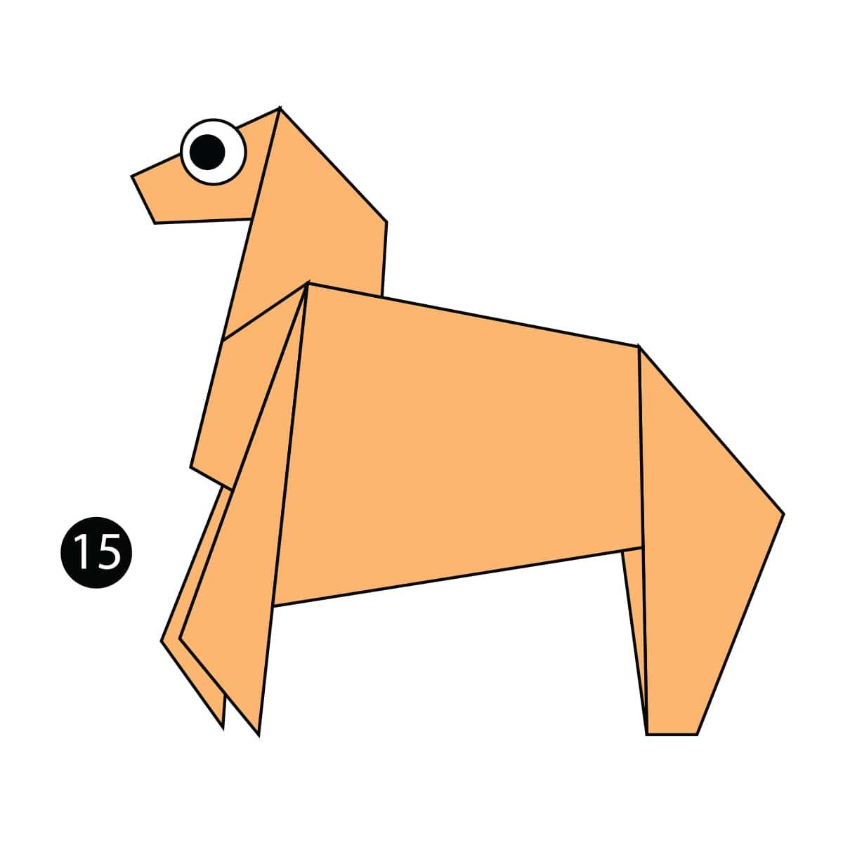 Horse Step 15