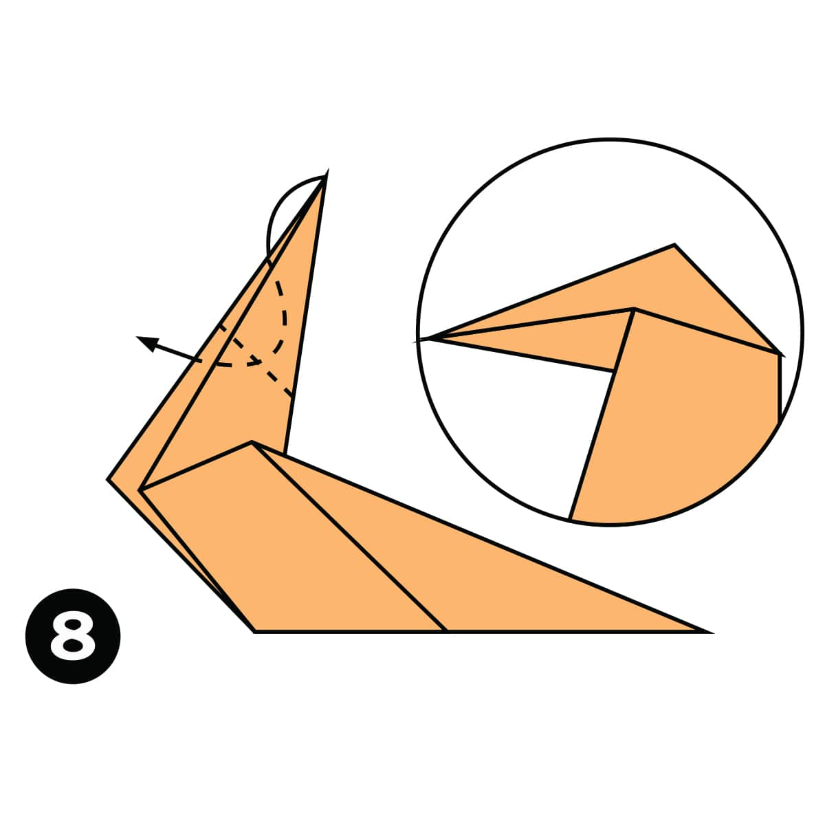 Horse Step 8
