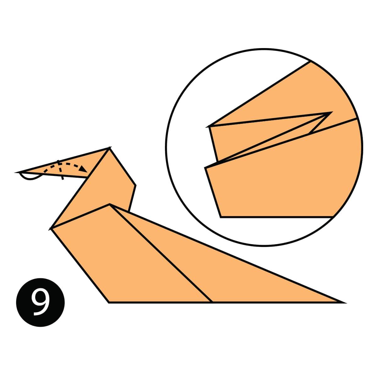 Horse Step 9