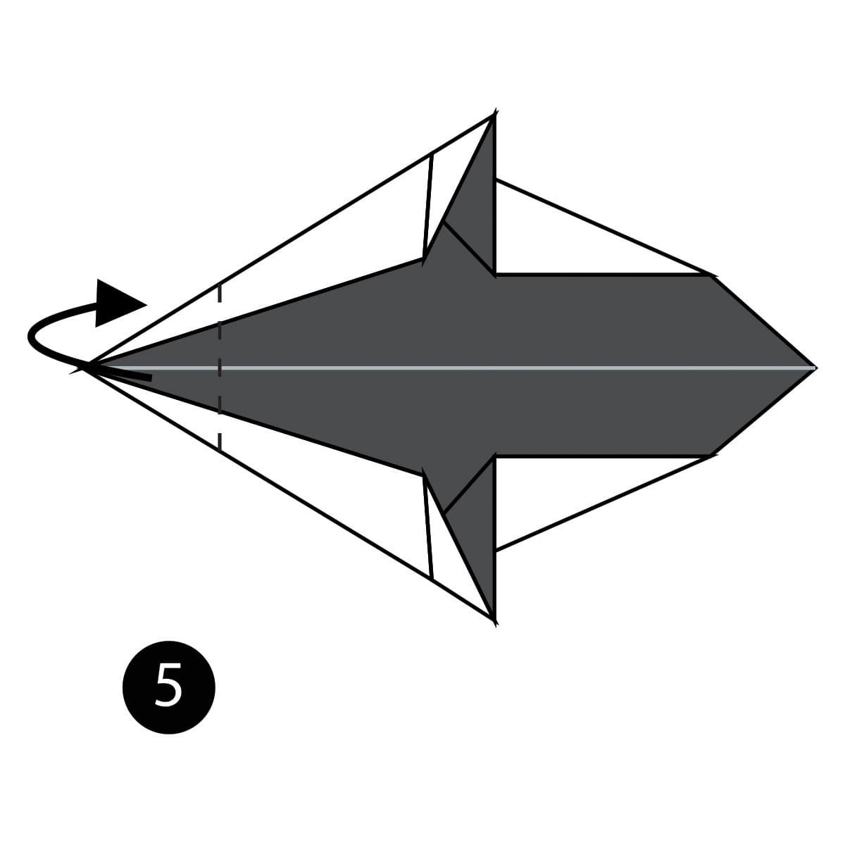 Killer Whale Step 5