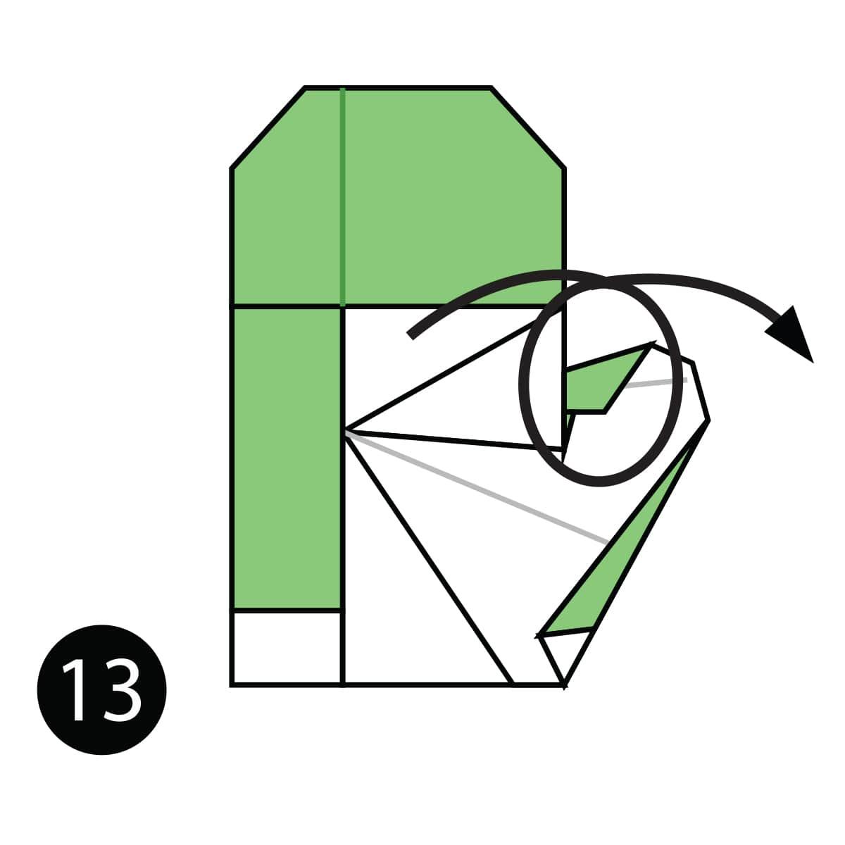 Mitten Step 13