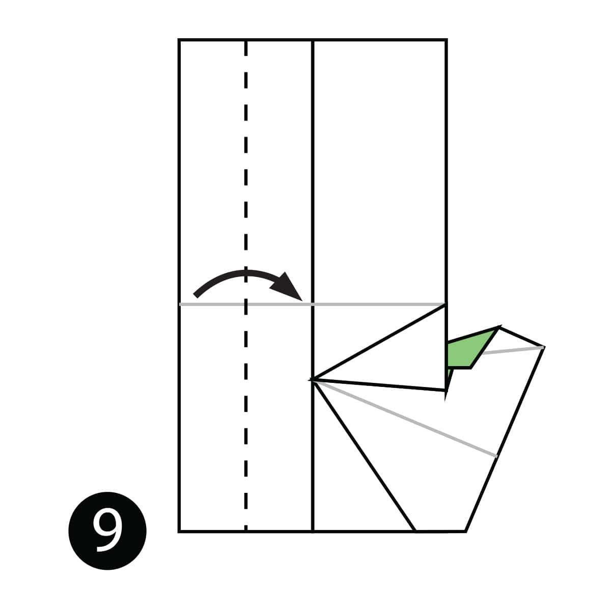 Mitten Step 9