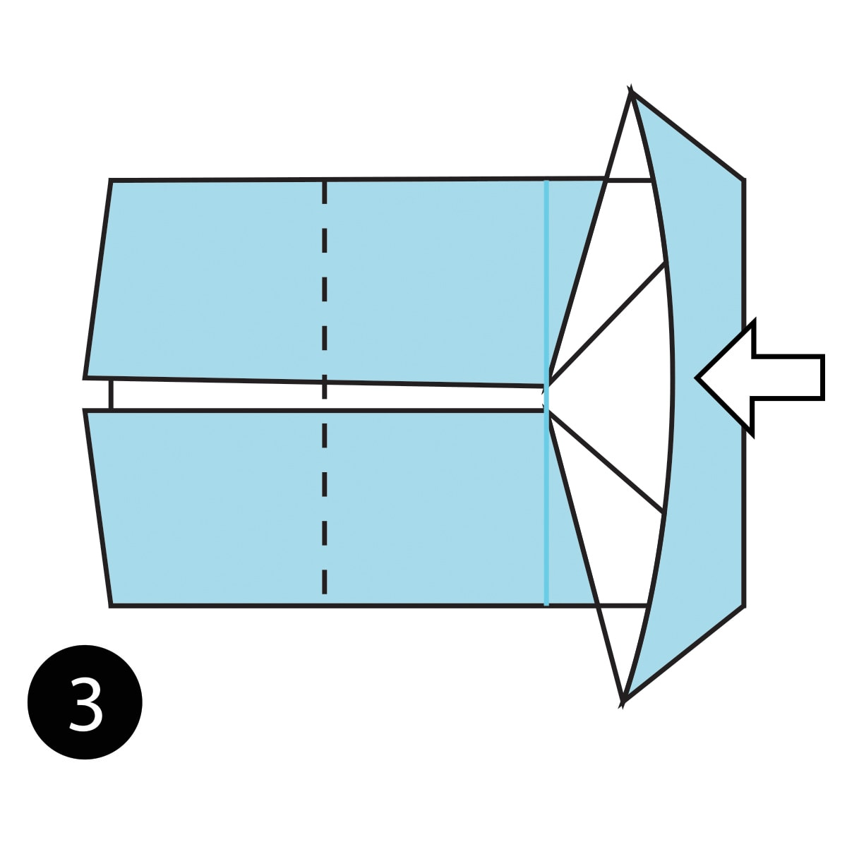 How To Fold A Simple Origami Mouse From The Paper Diagram Of Themouse Step 3