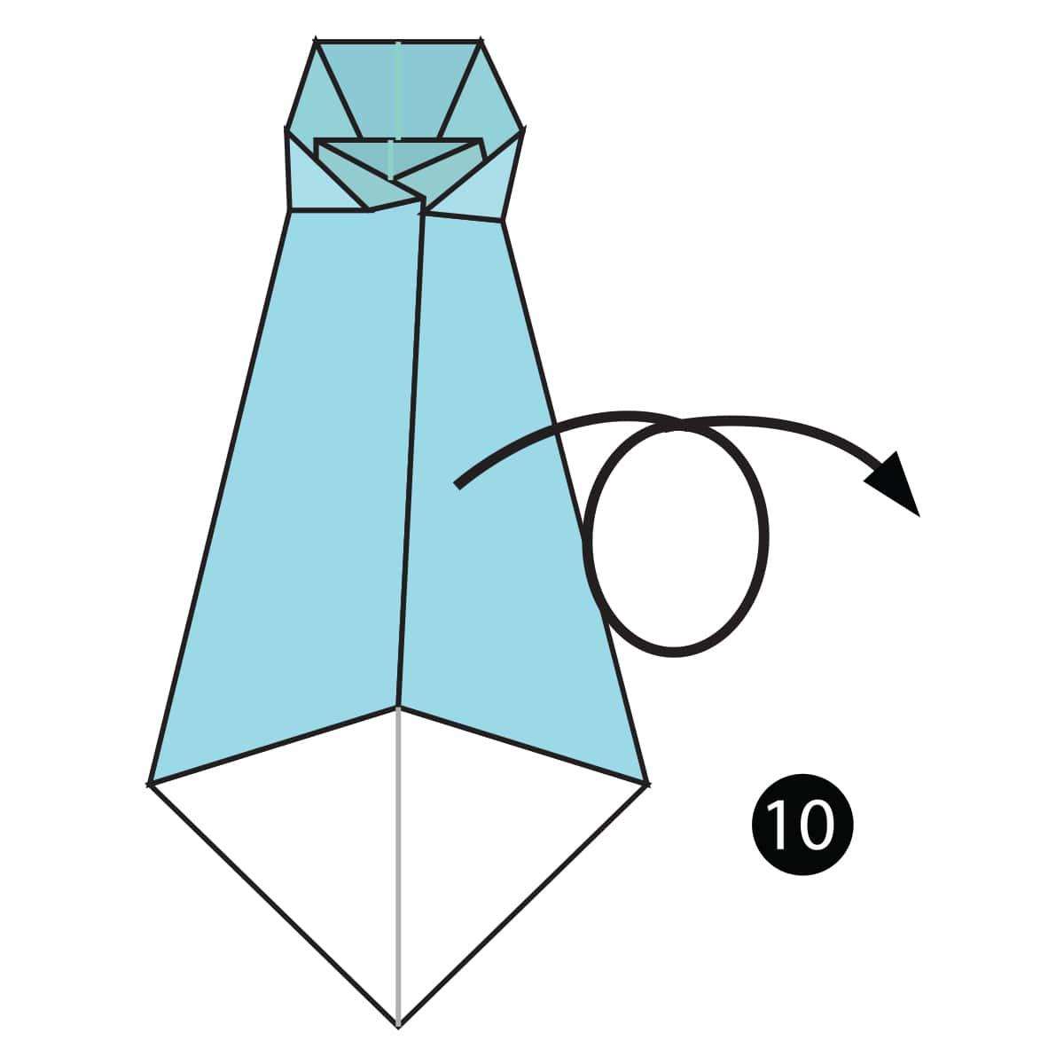 Necktie Step 10