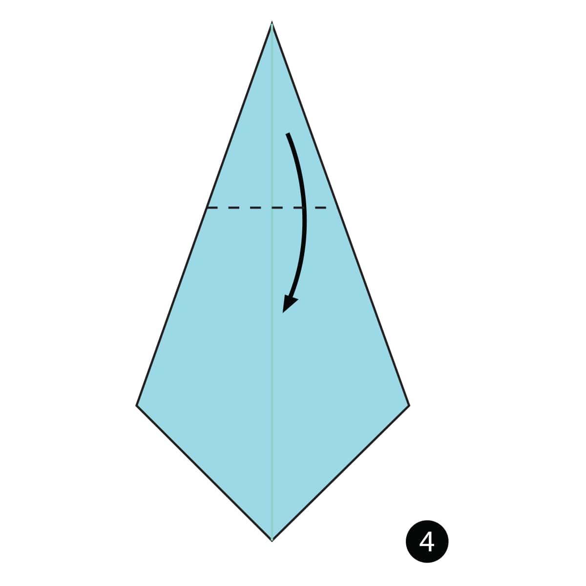 Necktie Step 4
