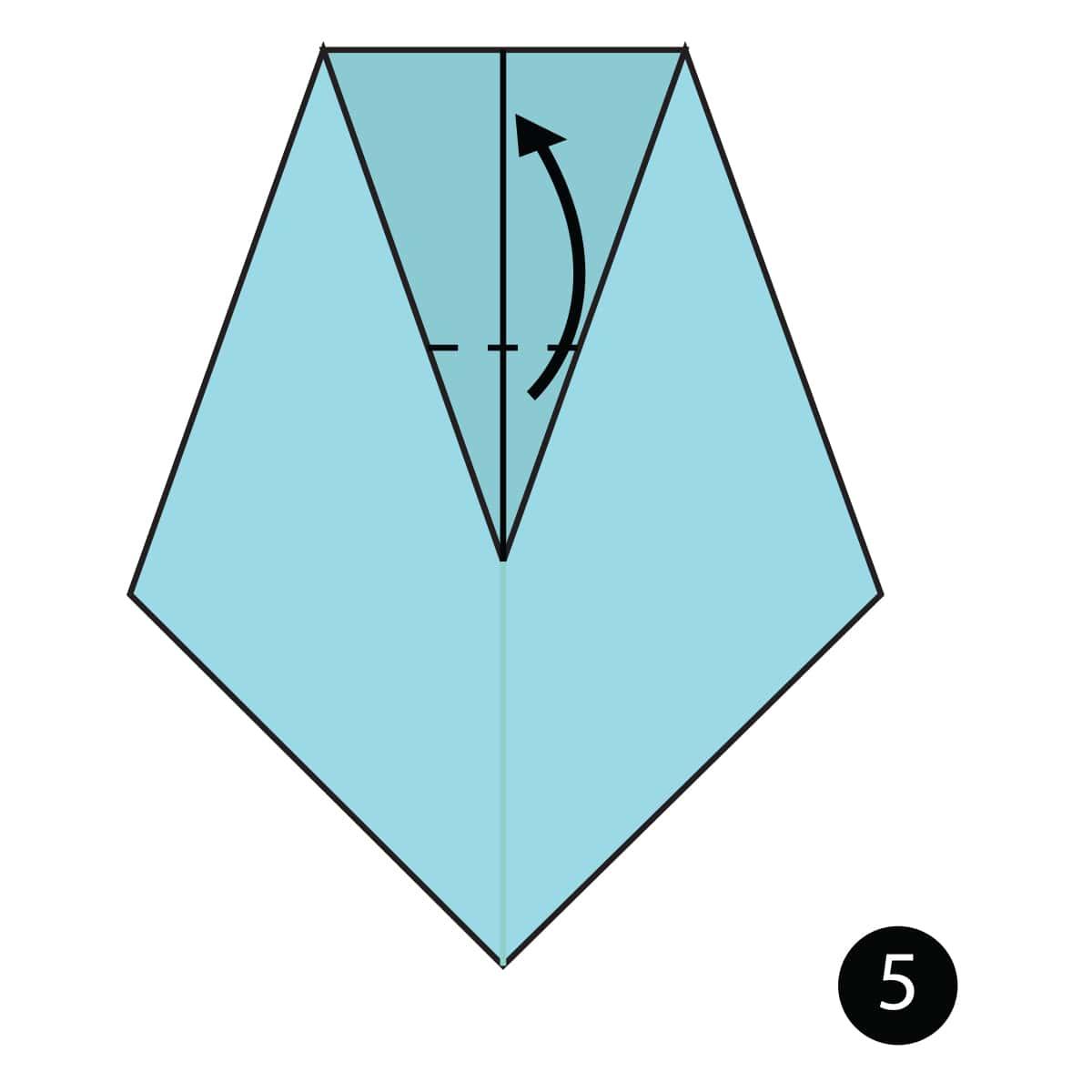 Necktie Step 5